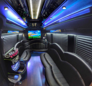 sprinter limo bus interior 1