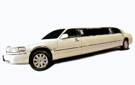 8 Pas. White<br>Lincoln Towncar
