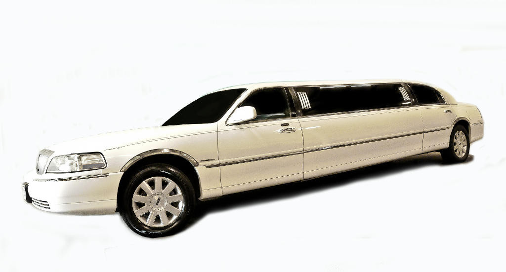 white-lincoln-towncar